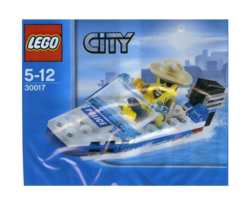 Lego City Полицейский катер 30017