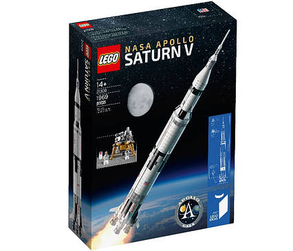 Lego Ideas Ракета-носій Сатурн-5 21309