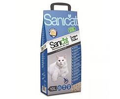 Sanicat Professional Clump Oxygen Power комкующийся наполнитель для кошек с активным кислородом, 10 кг