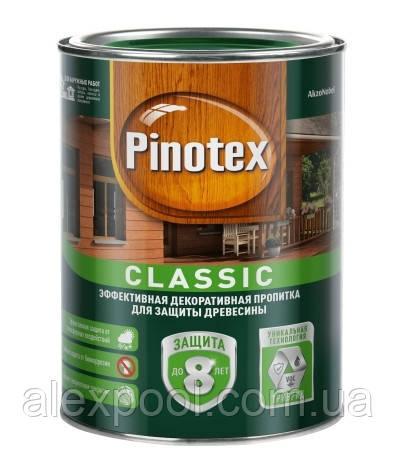PINOTEX CLASSIC засіб для захисту деревини з декоративним ефектом 3 л