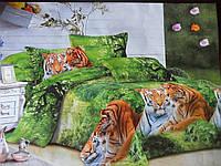 Полуторный комплект постельного белья с 3D эффектом