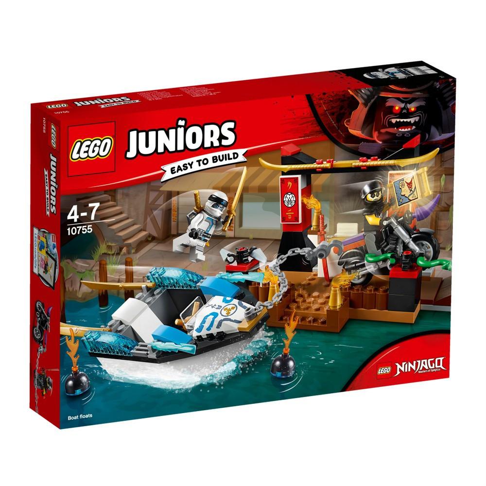 Lego Juniors Преследование на лодке Зейна 10755