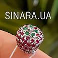 Серебряный шарм Пандора Клубника - Шарм Pandora Клубничка, фото 4
