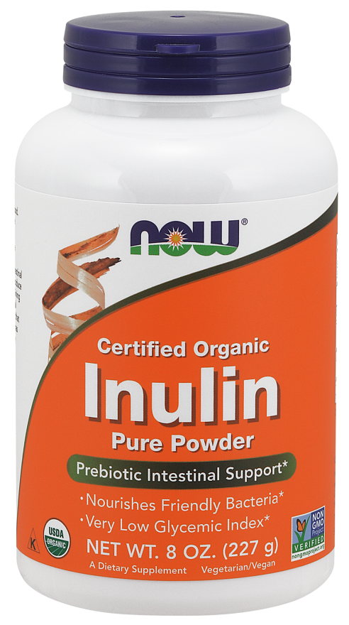 NOW_Inulin Powder, Organic - 227 г
