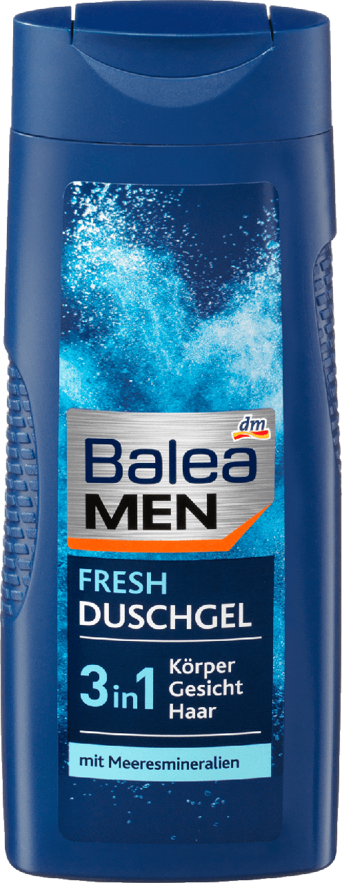 Гель для душа Balea Men 3 in 1 Fresh, 300 ml