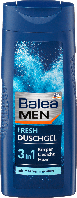 Гель для душа Balea Men 3 in 1 Fresh, 300 ml, фото 1