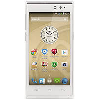 Смартфон  Prestigio MultiPhone 5455 DUO (White) (гарантия 24 мес) UCRF