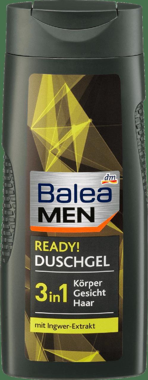 Гель для душа Balea Men 3 in 1 Ready, 300 ml