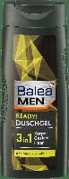 Гель для душа Balea Men 3 in 1 Ready, 300 ml, фото 1