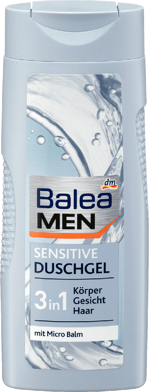 Гель для душа Balea Men 3 in 1 Sensitive, 300 ml