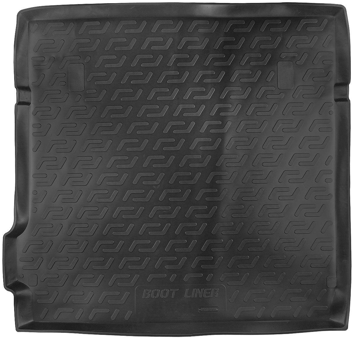 Коврик в багажник для Nissan Pathfinder III (R51) (04-10) полиуретановый 105070101