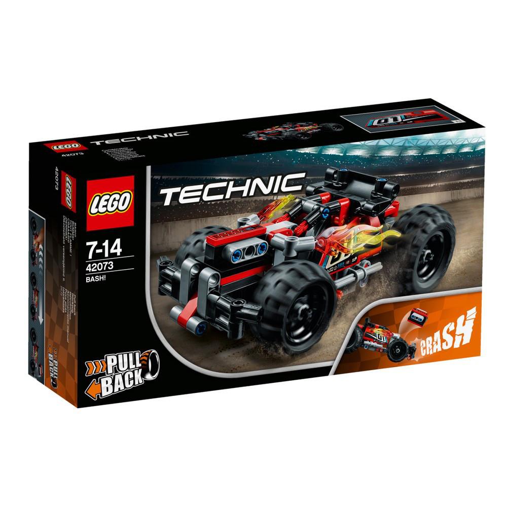 Lego Technic БЕМЦ! Красный гоночный автомобиль 42073