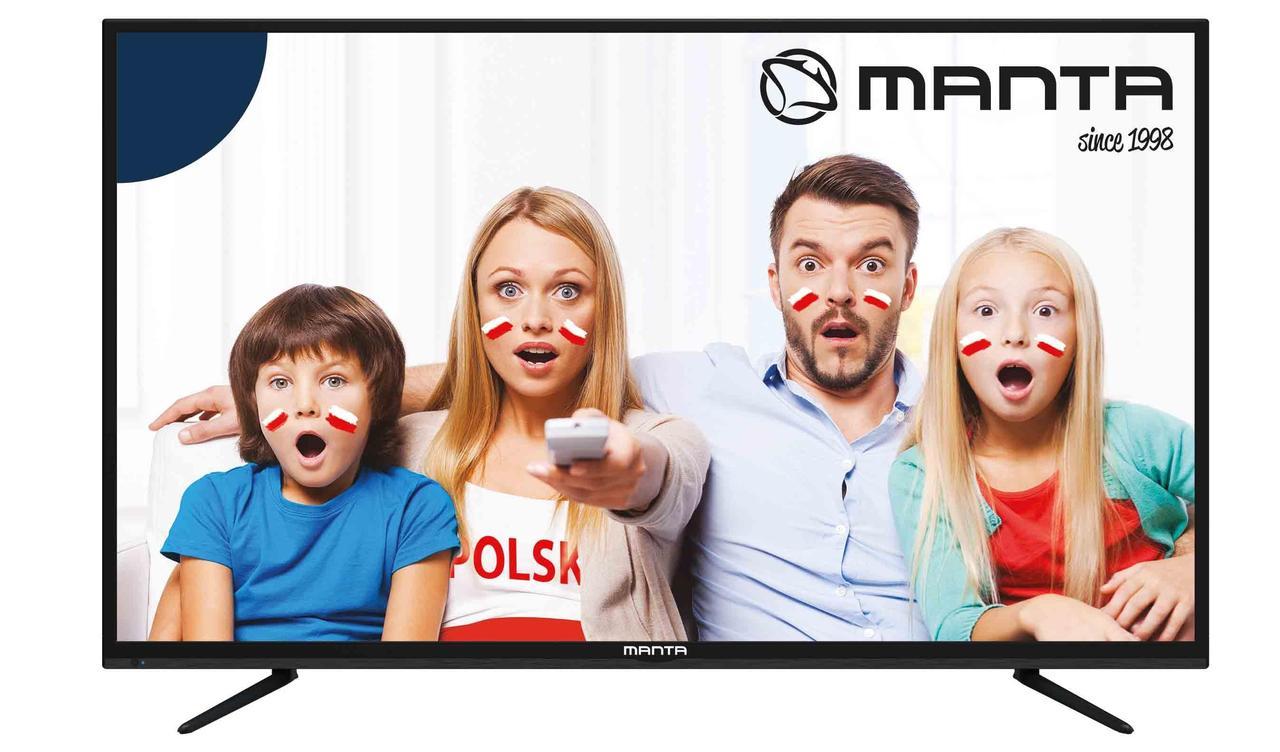 Телевизор MANTA 60LUA58L 4K UHD ANDROID USB WI-FI, фото 1
