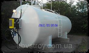 Контейнерная мини АЗС для дизельного топлива 15000 литров