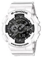 Мужские Электронные Японские Наручные Спортивные часы Sport watch Casio G-Shock GA 110 White Копия