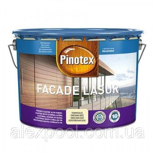 PINOTEX FACADE LASUR Декоративне деревозахистний засіб для захисту від впливу атмосферних явищ 10 л