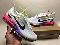 Кроссовки Nike Air Max 97 OG x Off White найк аир макс мужские женские  AJ4585- 5ab55224835