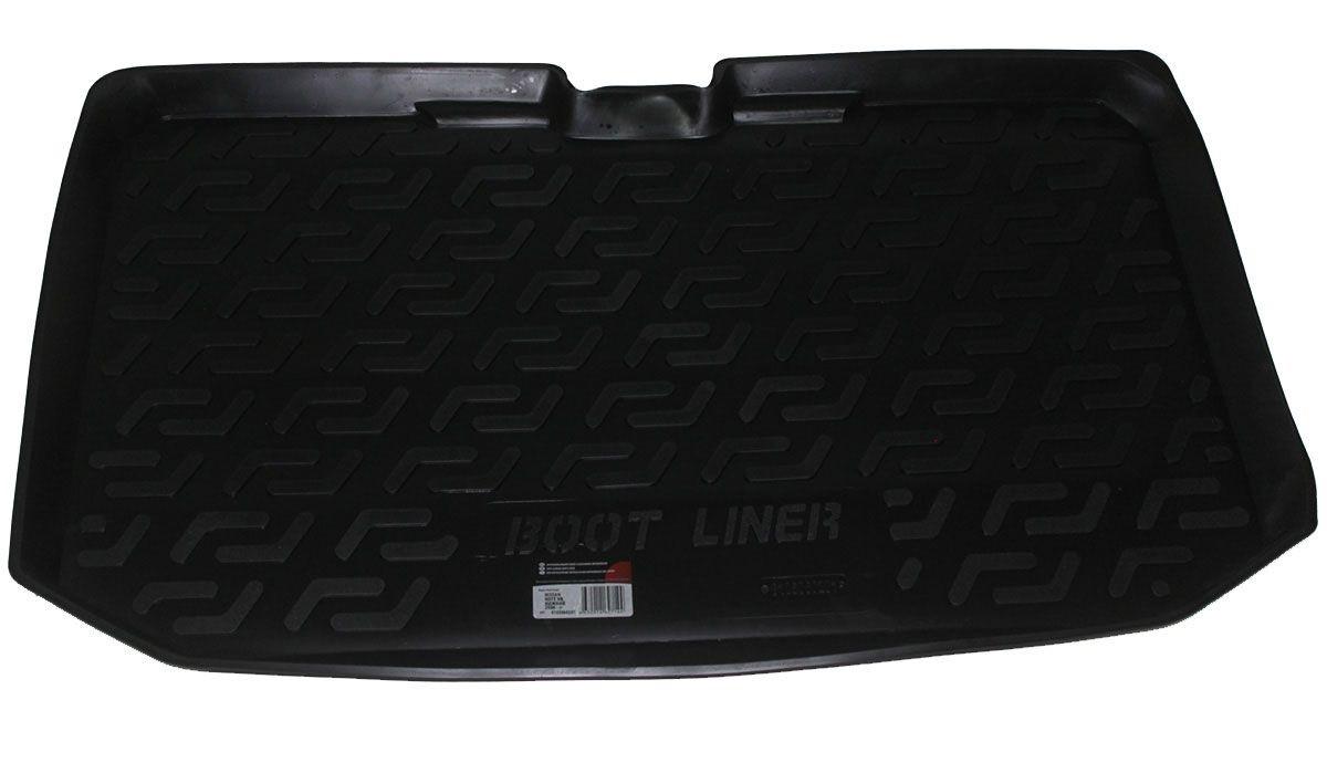 Коврик в багажник для Nissan Note HB (06-) полиуретановый 105060201