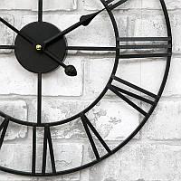 Часы настенные металлические в стиле лофт - Milano 40