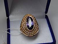 Золотое женское кольцо. Размер 17,5 Проба 583