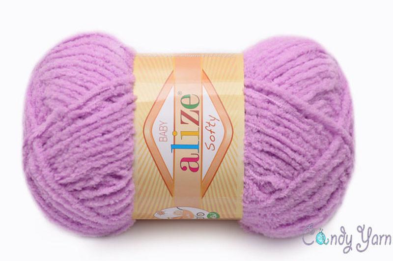 Alize Softy, №672 нежно-розовый
