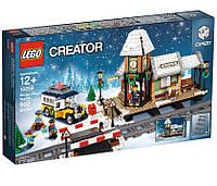 Lego Creator Зимняя железнодорожная станция 10259