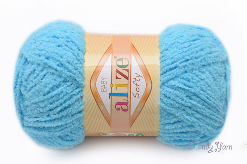 Alize Softy, №364 бирюзовый
