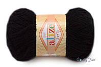 Alize Softy, №60 черный
