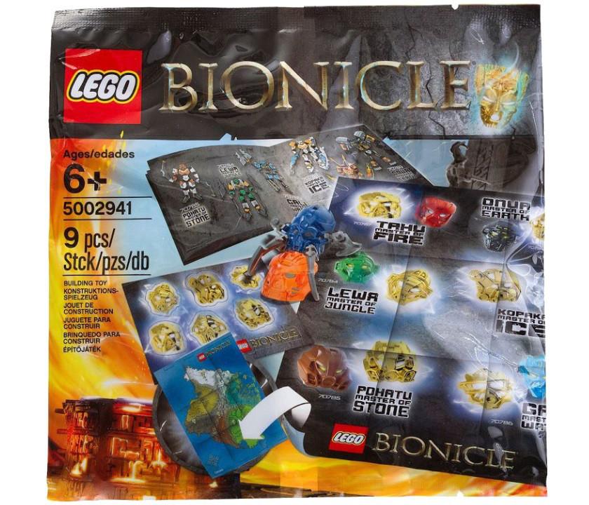 Lego Bionicle Набір аксесуарів Бионикл 5002941
