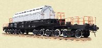Транспортер железнодорожный для транспортных упаковочных комплектов типа ТУК-13