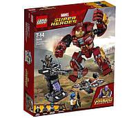 Lego Super Heroes Война бесконечности: Бой Халкбастера 76104