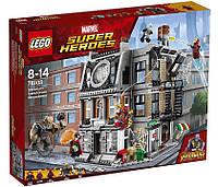 Lego Super Heroes Война бесконечности: Решающий бой в Санктум Санкторум 76108