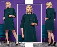 Женское батальное платье СОР3022, фото 1
