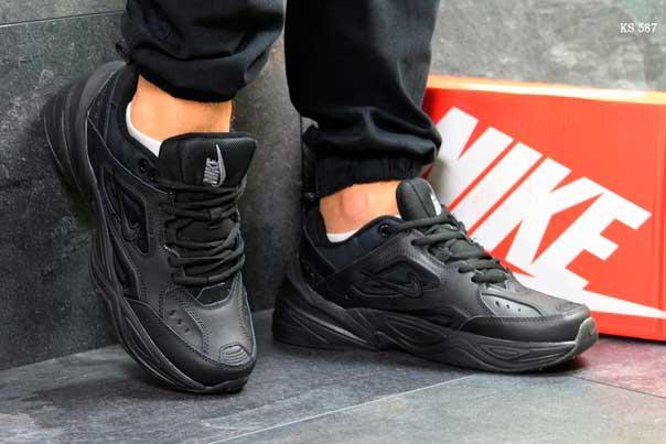 Кроссовки Nike М2K Tekno (черные)
