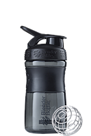 Спортивная бутылка-шейкер BlenderBottle SportMixer 590ml Black (ORIGINAL), фото 1