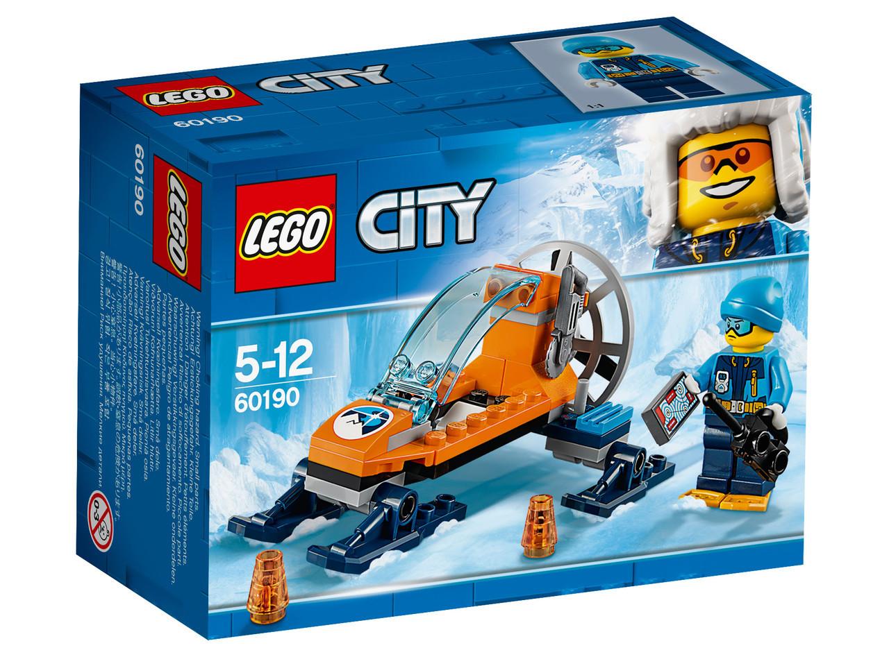 Lego City Арктическая экспедиция: Аэросани 60190