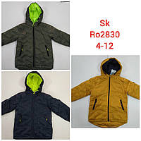 Куртки на мальчика оптом, Setty Koop, 4-12 рр