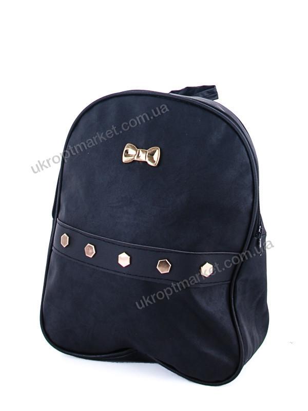"""Рюкзак женский 505 black (23x33см, черный) """"David Polo""""  LG-1605"""