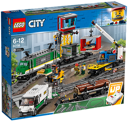 Lego City Товарний поїзд 60198