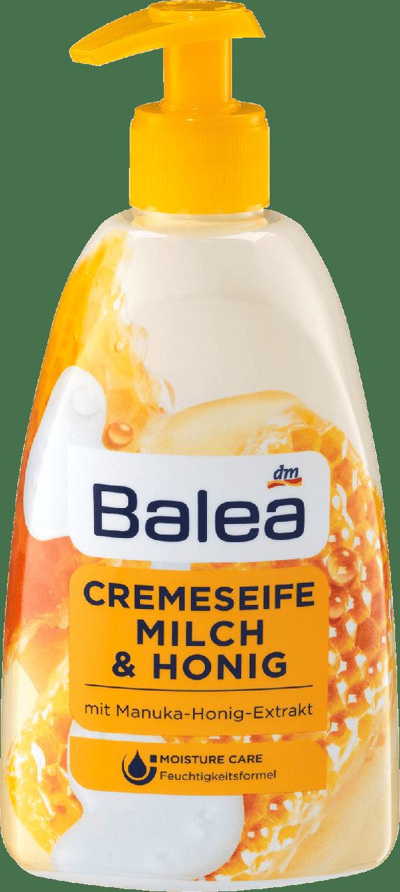 Жидкое крем - мыло Balea Milch & Honiq, 500 ml