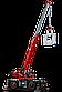 Lego Technic Подъёмный кран для пересечённой местности 42082, фото 7