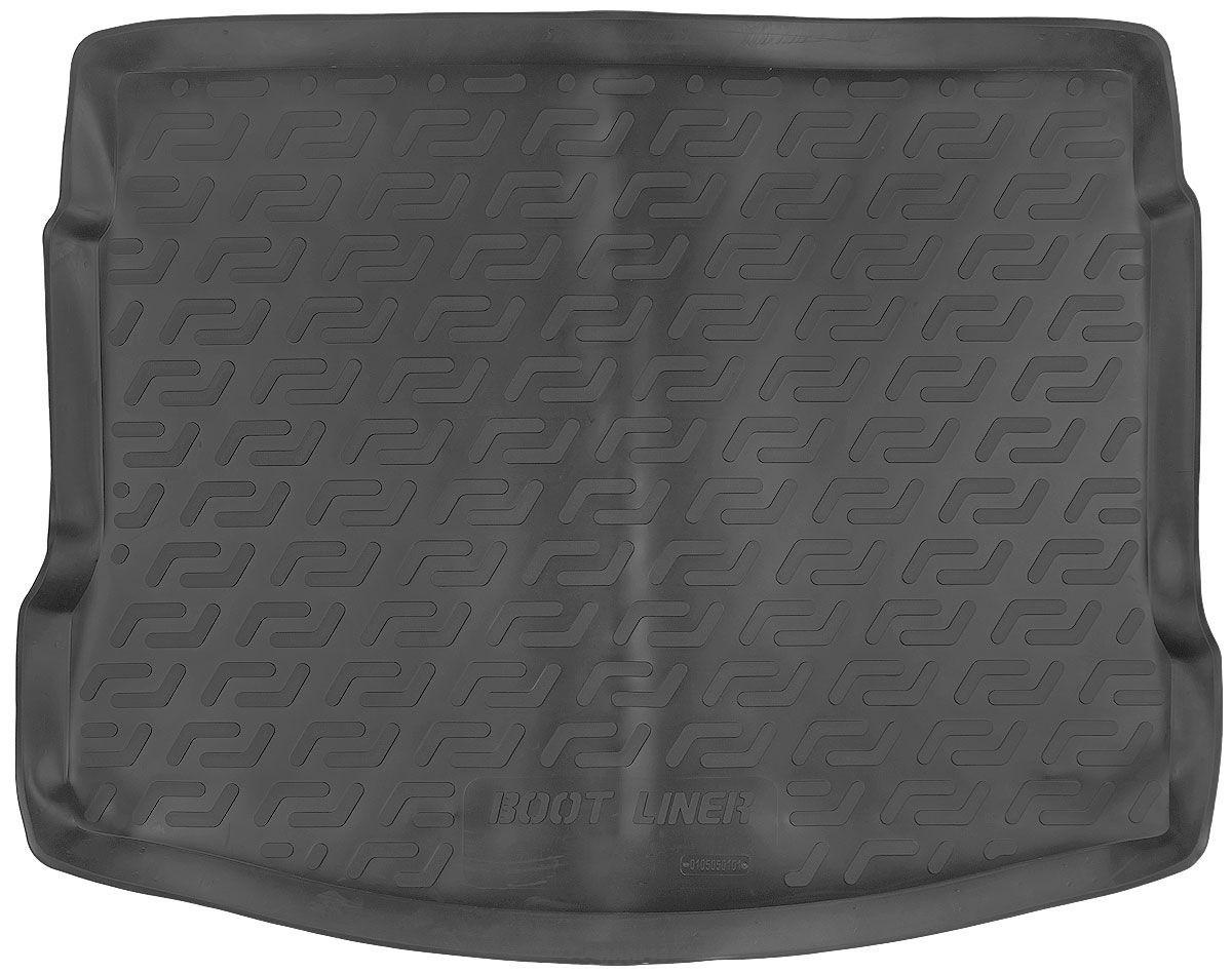 Коврик в багажник для Nissan Qashgai (J10) (07-14) полиуретановый 105050101