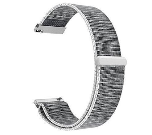 Нейлоновий ремінець для годинника Samsung Galaxy Watch 42 mm (SM-R810) - White