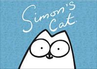 """Магнит сувенирный """"Simon's Cat"""" 22"""