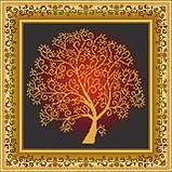 Набір для вишивання бісером Дерево достатку. ВКВ-136ч, фото 2