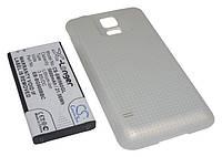 Аккумуляторная батарея CameronSino для смартфона Samsung Galaxy S5 (SM-G900), 5600mAh/21.56Wh, с крышкой золотого цвета