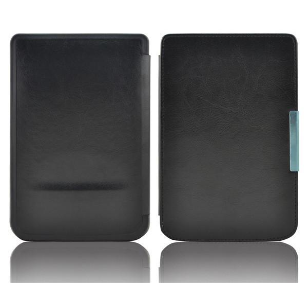 Обложка (чехол) для PocketBook 640/641 Aqua 2 - цвет черный