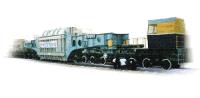 Транспортер железнодорожный сочлененного типа