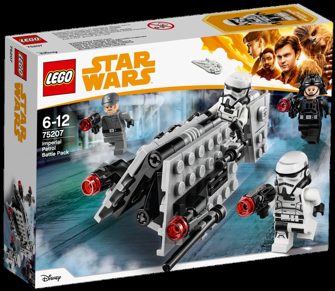 Lego Star Wars Боевой набор имперского патруля 75207