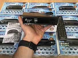 Т2 Тюнер Eurosky ES-18 LED (YouTube, Gmail, IPTV, Megogo, KINO-LIVE) T2 Internet із дисплеєм